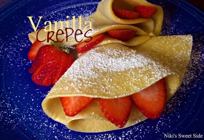 Vanilla Crepes