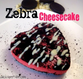 Zebra Cheesecake by Niki's Sweet Side