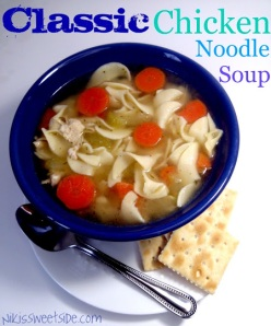 Classic Chicken Noodle Soup by Niki's Sweet Side