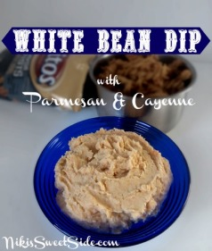 White Bean Dip by Niki's Sweet Side