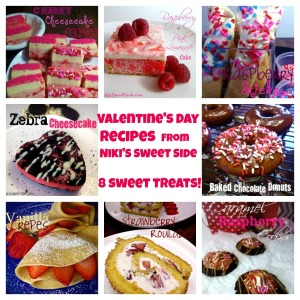 8 Valentine's Day Recipes from Niki's Sweet Side