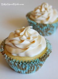 White and Milk Chocolate Cupcakes