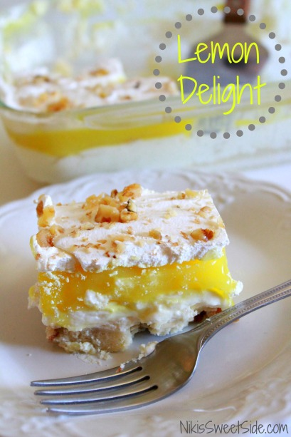 Lemon Delight by Niki's Sweet Side