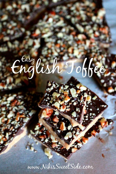 Easy English Toffee by Niki's Sweet Side