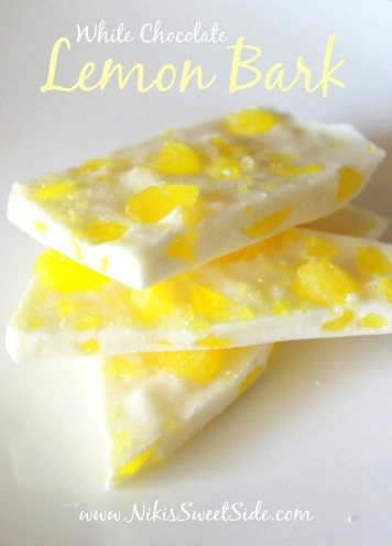 White Chocolate Lemon Bark
