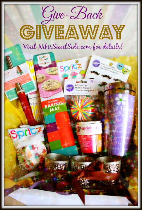 Give Back Giveaway from Niki's Sweet Side!